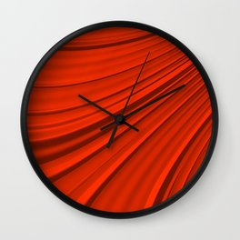Renaissance Red Wall Clock