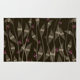 Art Deco Flowering Vines Rug