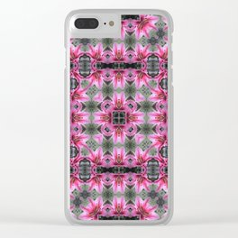 PATTERN LILY STARGAZER SINGLE FLOWER 2 Clear iPhone Case