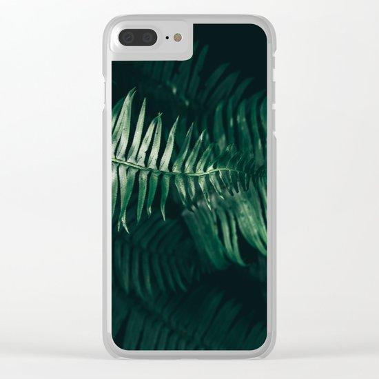 Ferns III Clear iPhone Case