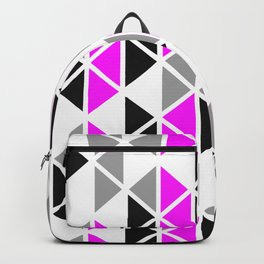 Triangular Vitrail Mosaic Pattern V.06 Backpack