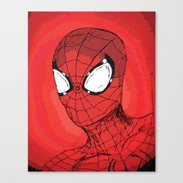 Responsibility - Spidey Canvas Print