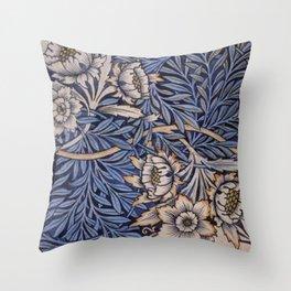 William Morris Daffodil Throw Pillow