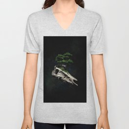 The Third Sanctuary in Space Unisex V-Neck