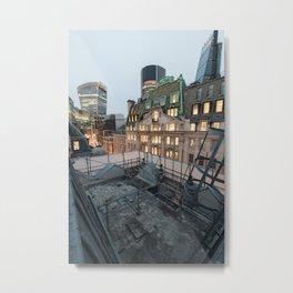 London, The City Metal Print
