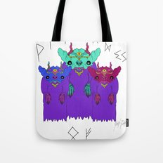 The Strange Wizards of Three Tote Bag