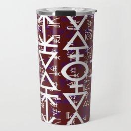 Love Rune-Burgandy Travel Mug