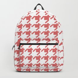AFE Coral Houndstooth Backpack
