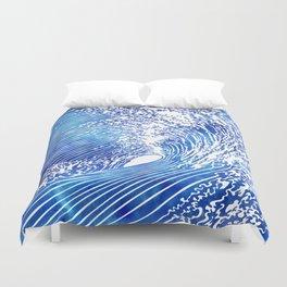 Blue Wave II Duvet Cover