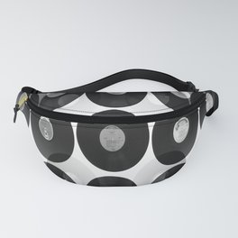 Something Nostalgic II - Black And White #decor #buyart #society6 Fanny Pack
