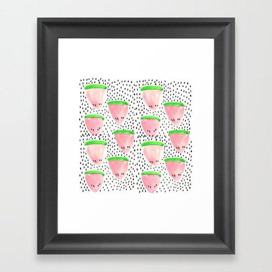 Watermelon Print II Framed Art Print