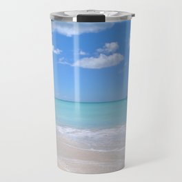 View of the sea from the beach Travel Mug