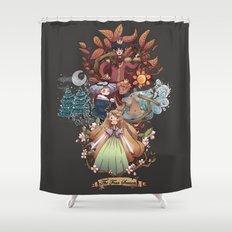 The Four Season Shower Curtain