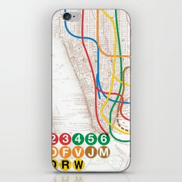 What the Future Awaits for New York I iPhone Skin