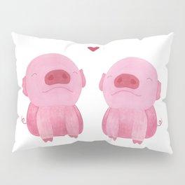 Piggy Love Pillow Sham