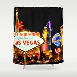 Living Las Vegas 2 Shower Curtain