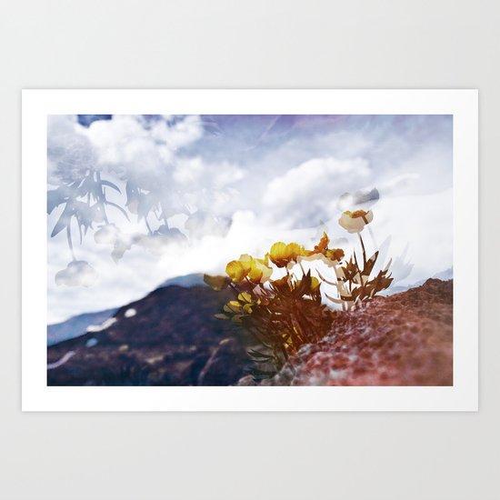Mountain Pass  Art Print