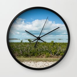 Haters Will Say It's Photoshop - Florida Keys Wall Clock
