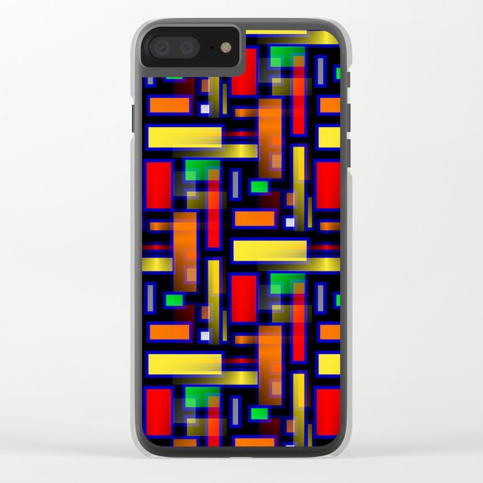 Color Merge Clear iPhone Case