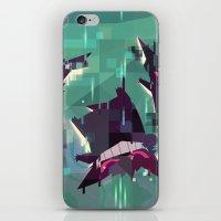 gengar iPhone & iPod Skins featuring Gengar by tinysnails