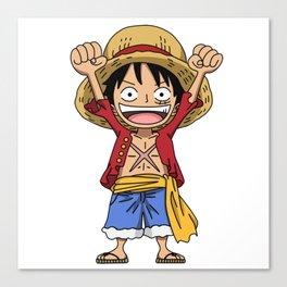 Monkey D. Luffy Canvas Print