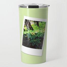 Retro Photo: Tops of Leaves Travel Mug