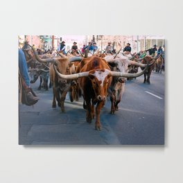 Denver National Western Stock Show Kick-of Parade 2018 Metal Print