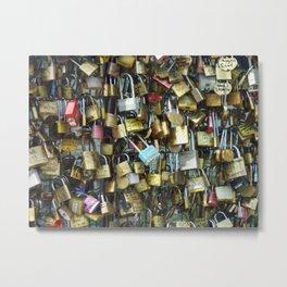 Love Locks of Paris Metal Print