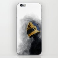 durarara iPhone & iPod Skins featuring Celty by notneds