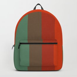 Rust Turquoise Spice 2 - Color Therapy Backpack