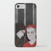 teen wolf iPhone & iPod Cases featuring TEEN WOLF by suis0u