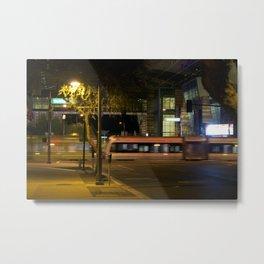 Night Motion Metal Print