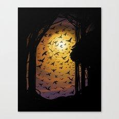 Flock Together Canvas Print