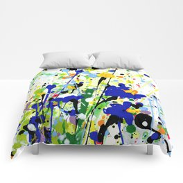 Deep In The Meadow 2 by Kathy Morton Stanion Comforters
