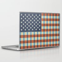 plaid Laptop & iPad Skins featuring Plaid Flag. by Nick Nelson