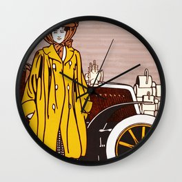 Collier's Automobile Number 1903 Wall Clock