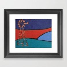 Windpump Framed Art Print