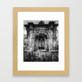 The Tomb Watchman Framed Art Print