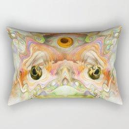 To Kiss a Frog Rectangular Pillow