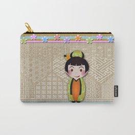 kokeshi noshi Carry-All Pouch
