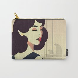 Girl Retro Style 13 Carry-All Pouch