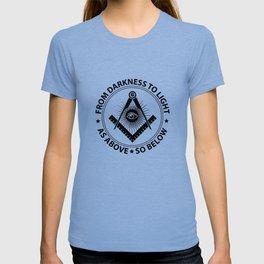 Freemasonry emblem T-shirt