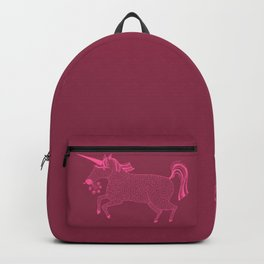 Pink on Pink Unicorn Backpack