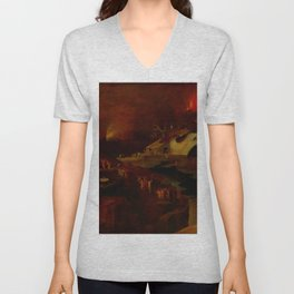 "Hieronymus Bosch (follower) ""Christ's Descent into Hell"" Unisex V-Neck"