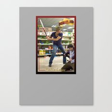 Tallahasee Baseball Card Canvas Print
