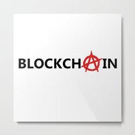 Blockchain Metal Print