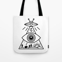 They Watch Us Tote Bag