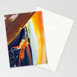 Abstraction - Colored chocolate - by LiliFlore Stationery Cards