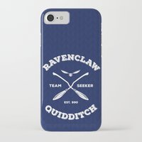 quidditch iPhone & iPod Cases featuring Ravenclaw Quidditch Team Seeker: Blue by Sharayah Mitchell