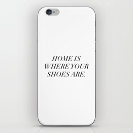 The best things in life are things (sometimes) iPhone Skin